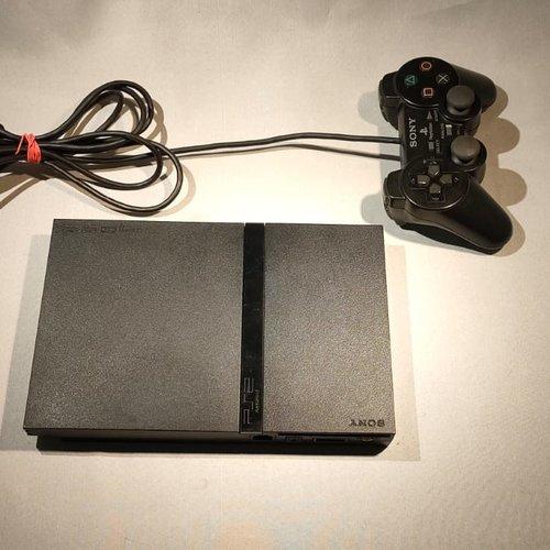 Sony Playstation 2 Slim - Zwart