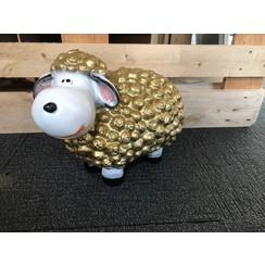 Trendy schaap - goud