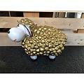 deco Trendy schaap - goud