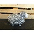 deco Trendy schaap - zilver