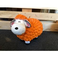 Trendy schaap - oranje