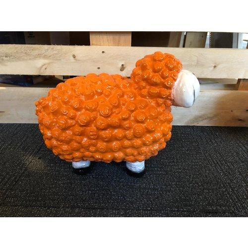 deco Trendy schaap - oranje