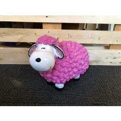 Trendy schaap - roze
