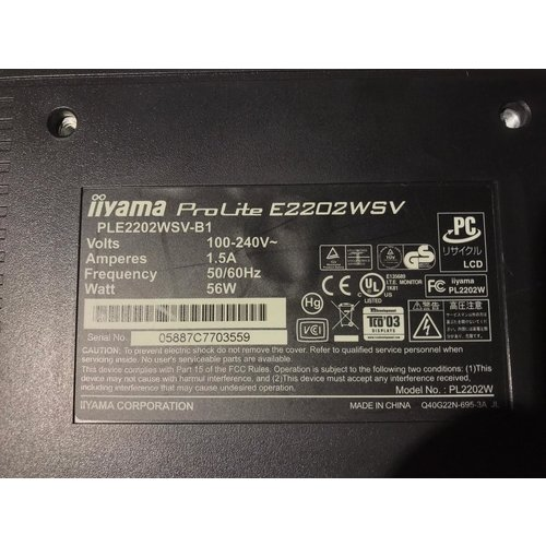 iiyama Iiyama ProLite E2202WSV