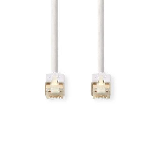 Netwerkkabel CAT6 S/FTP | RJ45 (8P8C) male - RJ45 (8P8C) male | 1,0 m | Wit