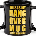 Bigmouth inc This is my Hangover mok met tekst- 680 ML