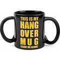 Bigmouth inc This is my Hangover mok met tekst- 680 ML