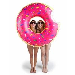 Opblaasbare Badring Donut Donut PINK 120cm
