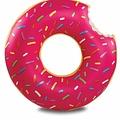 Bigmouth inc Opblaasbare Badring Donut Donut PINK 120cm