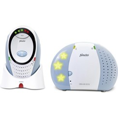 Alecto DBX-85 ECO Dect Babyfoon - Wit/Blauw