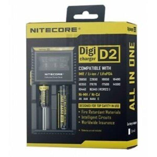 nitecore Nitecore Digicharger D2 batterijlader