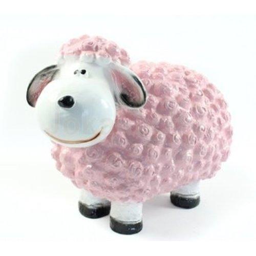 deco Trendy schaap - licht roze