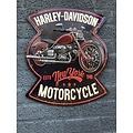 deco Harley Davidson motorcycles bord - metaal