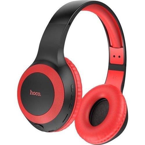 Hoco Bluetooth Wireless Headphone Black-Red