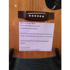 Hohner akoestische gitaar