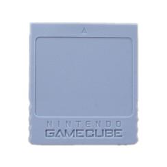 Nintendo gamecube memory card - 59 blocks