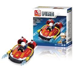 Sluban Bouwstenen Fire Serie Hovercraft