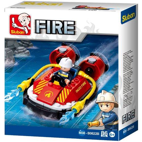 Sluban Sluban Bouwstenen Fire Serie Hovercraft