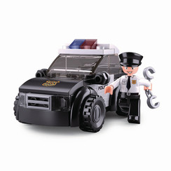 Sluban Bouwstenen Police Serie Patrouillewagen