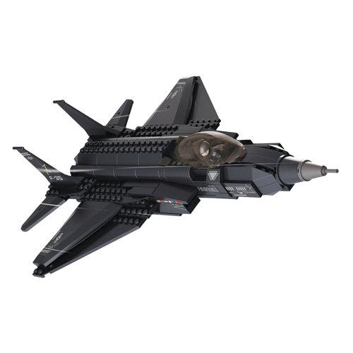 Sluban Sluban Bouwstenen Army Serie Gevechtsvliegtuig