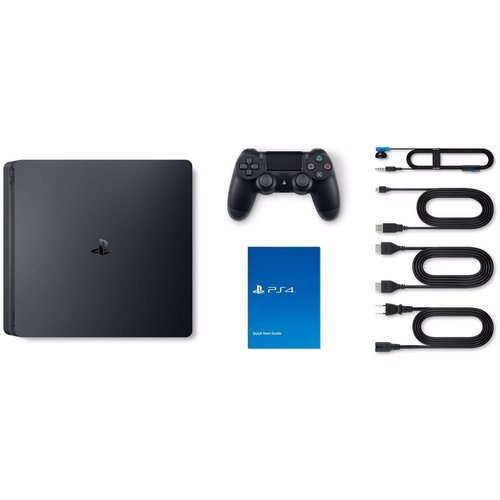Sony PlayStation 4 Slim 500GB (Zwart)