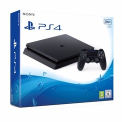 PlayStation 4 Slim 500GB (Zwart)