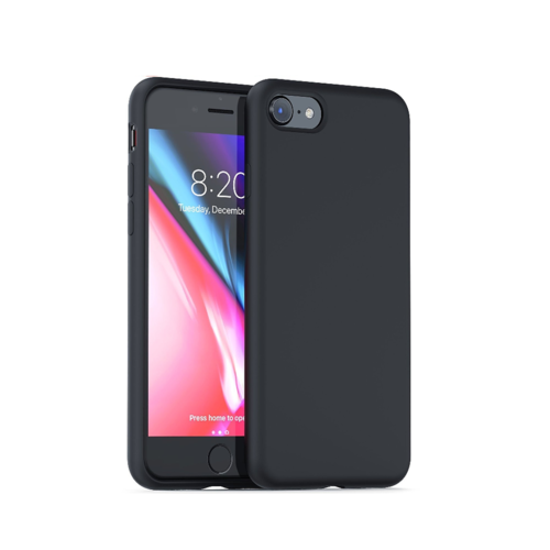 handelshuys Silicone case iPhone 6/6s/7/8 plus - zwart