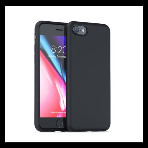 handelshuys Silicone case iPhone 6/6s/7/8/SE 2020 - zwart
