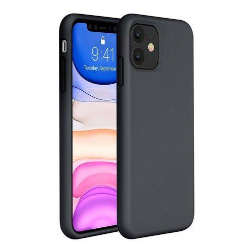 handelshuys Silicone case iPhone 11/Xr - zwart