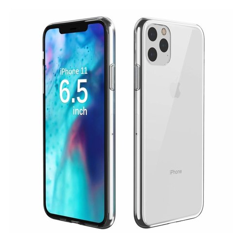 Silicone case iPhone Xs Max/ 11 Pro Max - transparant