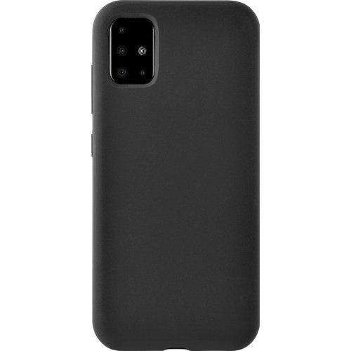 handelshuys Silicone case Samsung a71 - zwart