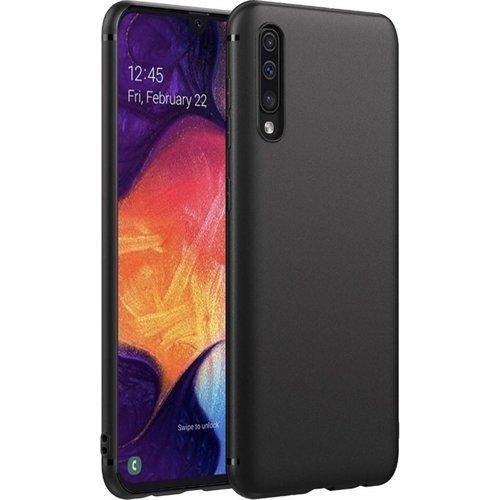 handelshuys Silicone case Samsung a70 - zwart