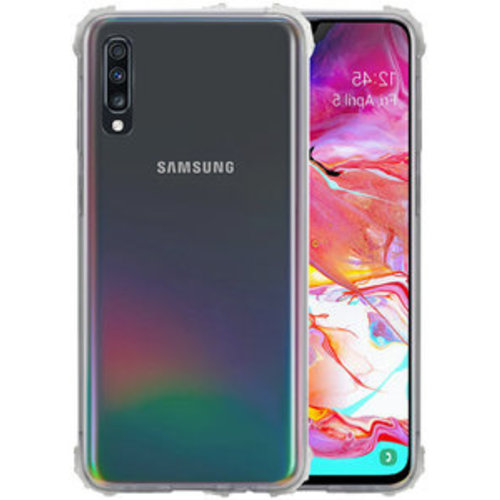 handelshuys Silicone case Samsung a70 - transparant