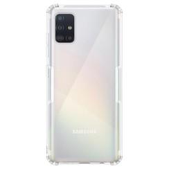 Silicone case Samsung a51 - transparant