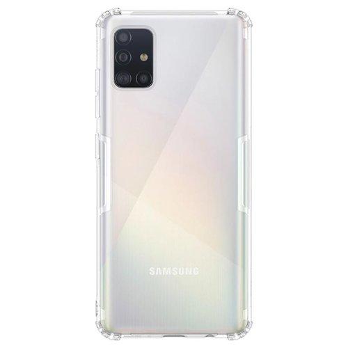 handelshuys Silicone case Samsung a51 - transparant