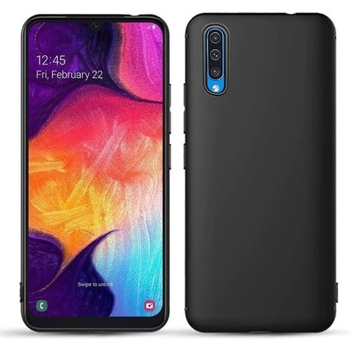handelshuys Silicone case Samsung a50 - zwart