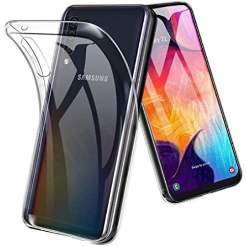 handelshuys Silicone case Samsung a50 - transparant