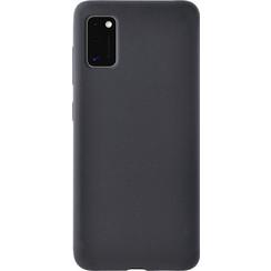 Silicone case Samsung a41 - zwart
