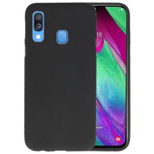 handelshuys Silicone case Samsung a40 - zwart