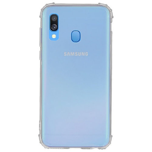 handelshuys Silicone case Samsung a40 - transparant