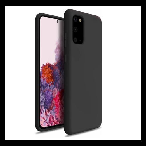 handelshuys Silicone case Samsung S20 - zwart