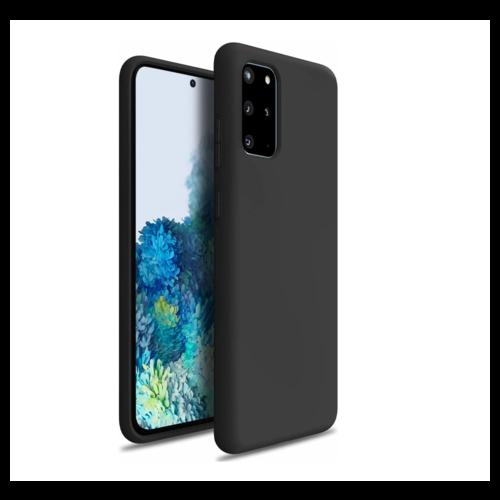 handelshuys Silicone case Samsung S20 plus - zwart