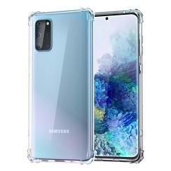Silicone case Samsung S20 plus - transparant