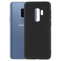 Silicone case Samsung S9 plus - zwart
