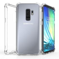 Silicone case Samsung S9 plus - transparant