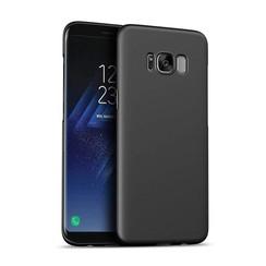 Silicone case Samsung S8 - zwart