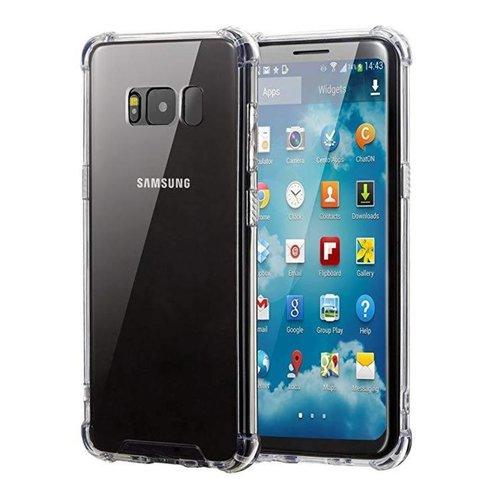 handelshuys Silicone case Samsung S8 - transparant