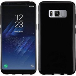 Silicone case Samsung S8 plus - zwart