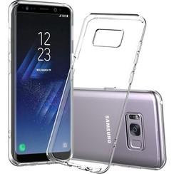 Silicone case Samsung S8 plus - transparant