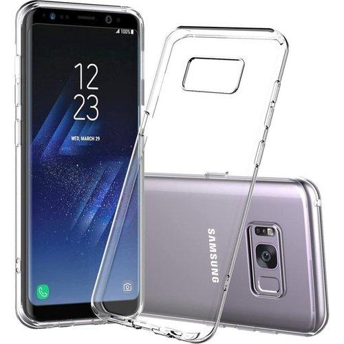 handelshuys Silicone case Samsung S8 plus - transparant